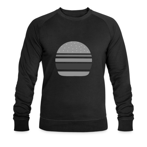 Logo_panhamburger_gris - Sweat-shirt bio Stanley & Stella Homme