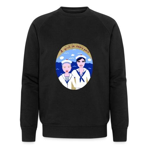 A girl in every port - Männer Bio-Sweatshirt von Stanley & Stella