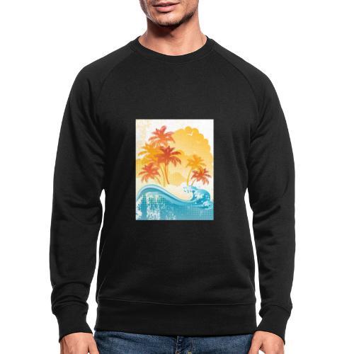 Palm Beach - Men's Organic Sweatshirt