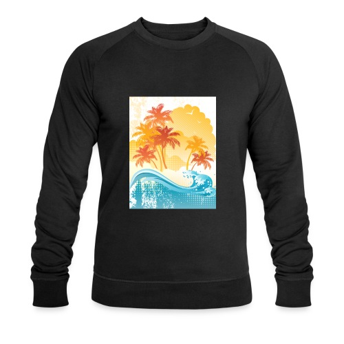 Palm Beach - Men's Organic Sweatshirt by Stanley & Stella