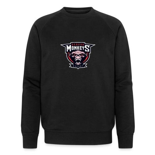 GermanMonkeys Logo - Männer Bio-Sweatshirt von Stanley & Stella