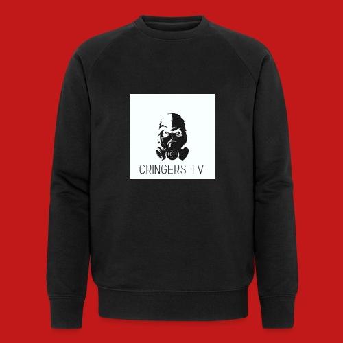 Original Cringers Tv Logga - Ekologisk sweatshirt herr från Stanley & Stella