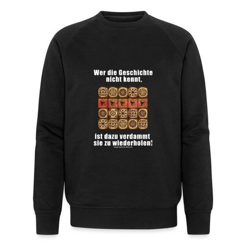 71_Geschichte_Lernen - Männer Bio-Sweatshirt von Stanley & Stella