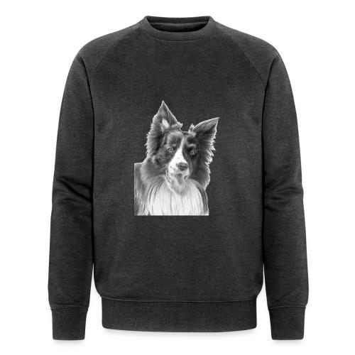 border collie 3 - Økologisk Stanley & Stella sweatshirt til herrer