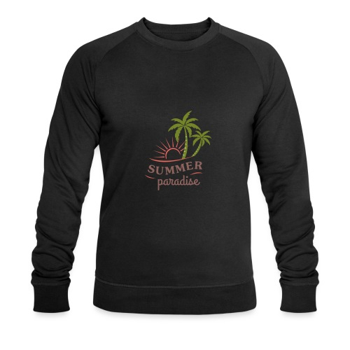 Summer paradise - Men's Organic Sweatshirt by Stanley & Stella
