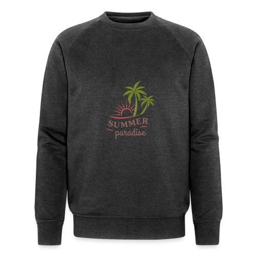 Summer paradise - Men's Organic Sweatshirt by Stanley & Stella