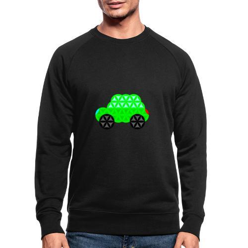 The Car Of Life - M01, Sacred Shapes, Green/R01. - Men's Organic Sweatshirt