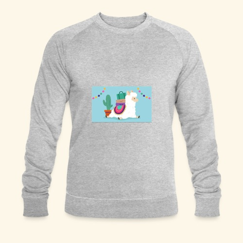lama / alpaca - Männer Bio-Sweatshirt