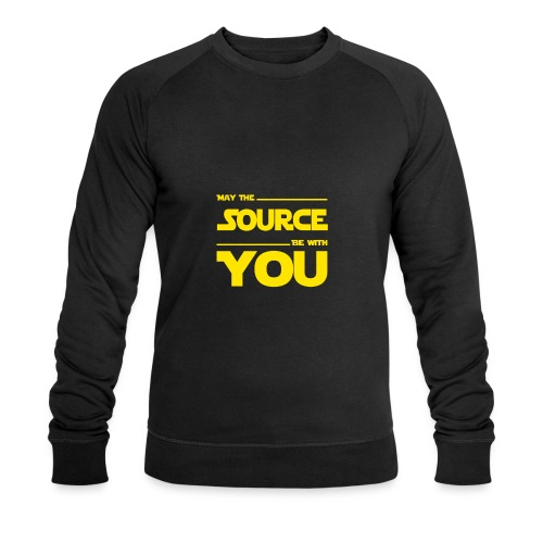 May Source Be With You für Programmierer - Men's Organic Sweatshirt by Stanley & Stella