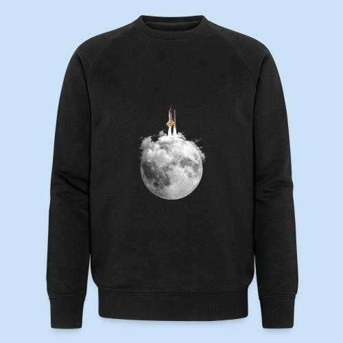 Mondrakete - Männer Bio-Sweatshirt