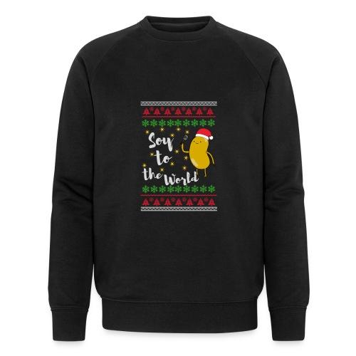 Soy to the world 1 - Mannen bio sweatshirt van Stanley & Stella