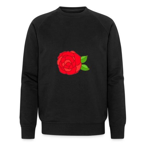 Róża - Ekologiczna bluza męska Stanley & Stella