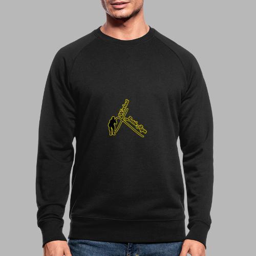 Battle Rope Workout - Männer Bio-Sweatshirt