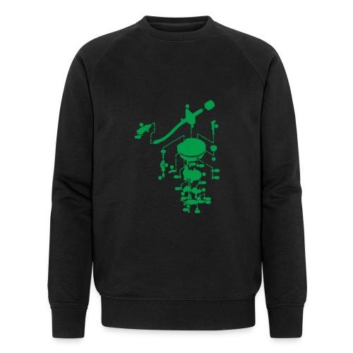 tonearm05 - Mannen bio sweatshirt van Stanley & Stella