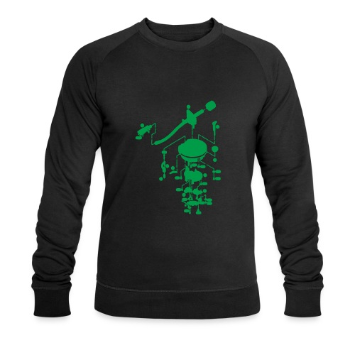 tonearm05 - Mannen bio sweatshirt