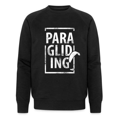 Paragliding Gleitschirmfliegen Paragleiten - Männer Bio-Sweatshirt
