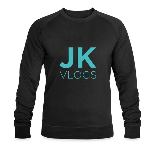 JK Vlogs Logo - Men's Organic Sweatshirt by Stanley & Stella