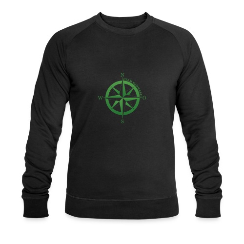 Team Bushcraft Kompass - Männer Bio-Sweatshirt