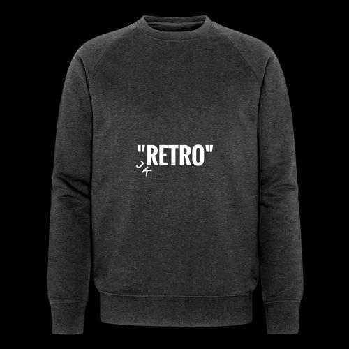 retro - Men's Organic Sweatshirt by Stanley & Stella
