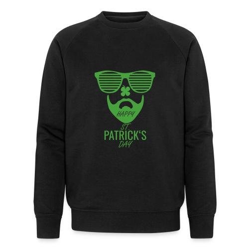 Happy St. Patrick's Beard Day - Männer Bio-Sweatshirt von Stanley & Stella