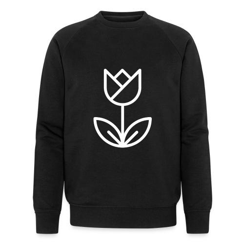 Tulip white png - Men's Organic Sweatshirt by Stanley & Stella