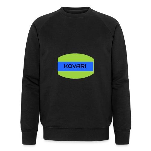 Kovari Logo - Miesten luomucollegepaita