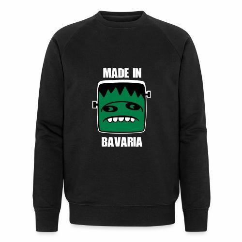Fonster weiß made in Bavaria - Männer Bio-Sweatshirt
