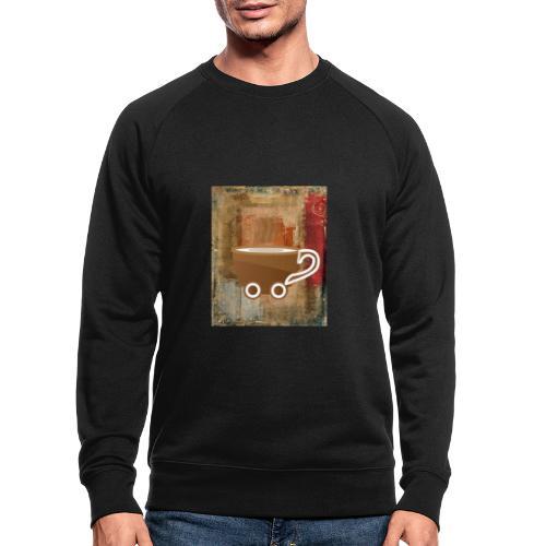vintage coffee - Männer Bio-Sweatshirt