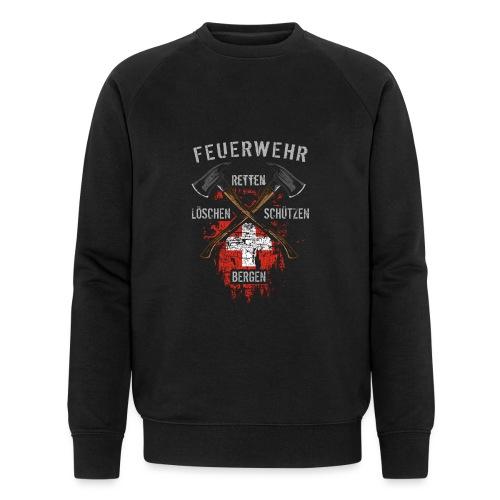 Retten Löschen Bergen Schützen - Männer Bio-Sweatshirt von Stanley & Stella