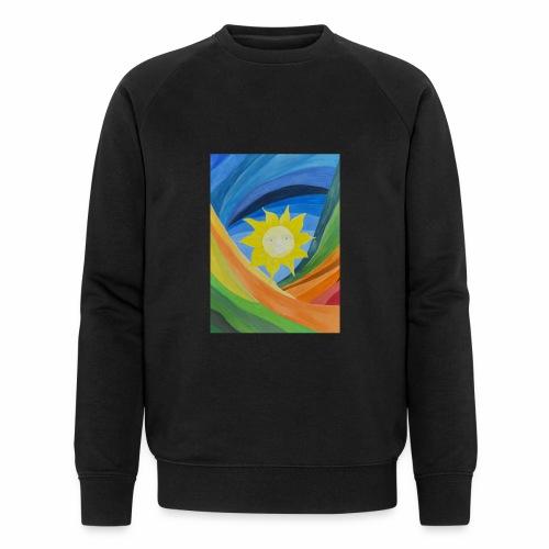 lachende-sonne - Männer Bio-Sweatshirt von Stanley & Stella