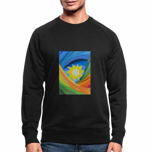 lachende-sonne - Männer Bio-Sweatshirt