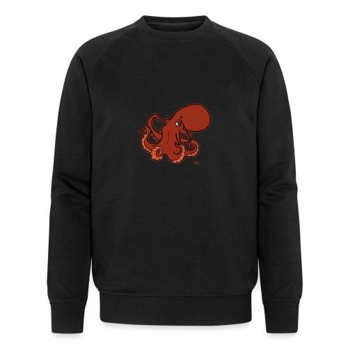 Giant Pacific Octopus (black edition) - Männer Bio-Sweatshirt von Stanley & Stella