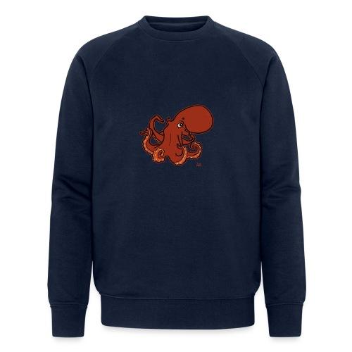 Giant Pacific Octopus (black edition) - Økologisk sweatshirt for menn fra Stanley & Stella
