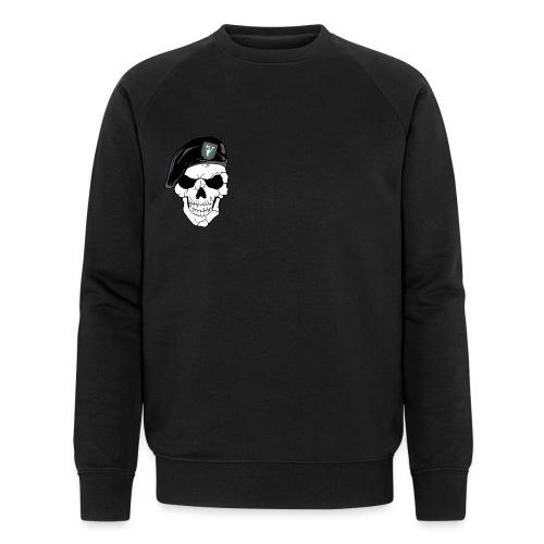Veterans Platoon Skull - Økologisk sweatshirt til herrer