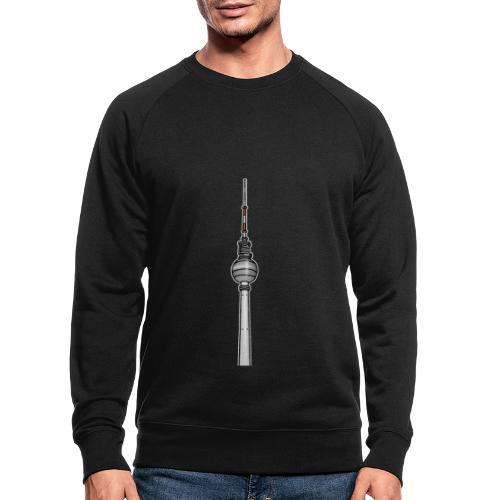 Fernsehturm Berlin c - Männer Bio-Sweatshirt