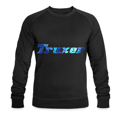 Truxer Name with Sick Blue - Men's Organic Sweatshirt by Stanley & Stella