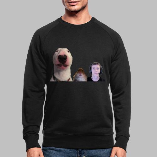 3 Amigos Walter, Hamster and Ltt. - Mannen bio sweatshirt