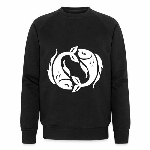 Das Sternzeichen Fisch - Männer Bio-Sweatshirt von Stanley & Stella