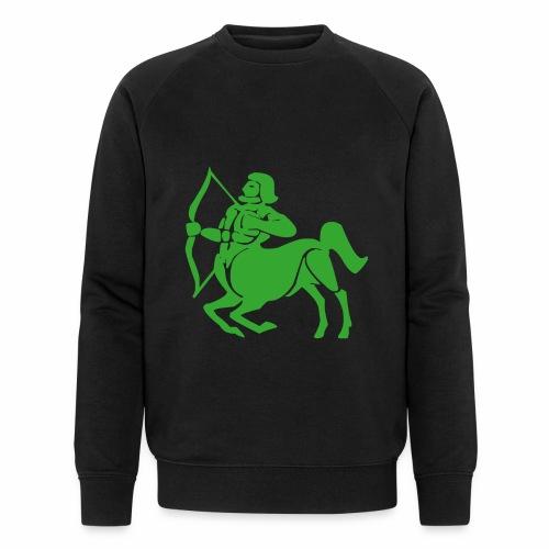 Das Sternzeichen Schütze trifft immer sein Ziel - Männer Bio-Sweatshirt von Stanley & Stella