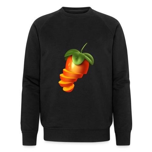 Sliced Sweaty Fruit - Men's Organic Sweatshirt by Stanley & Stella