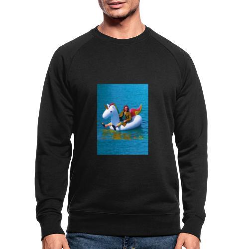 René Unicorn - Mannen bio sweatshirt
