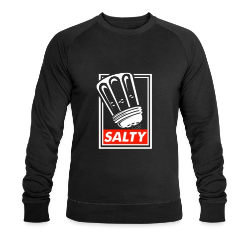Salty white - Men's Organic Sweatshirt by Stanley & Stella
