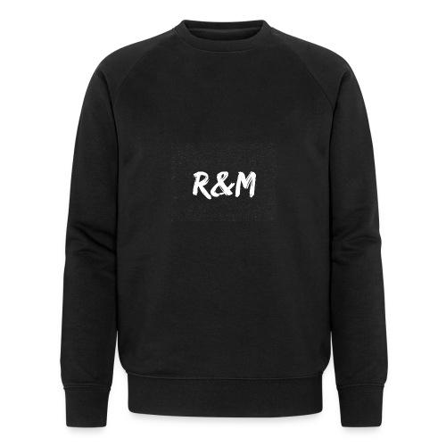 R&M Large Logo tshirt black - Men's Organic Sweatshirt by Stanley & Stella