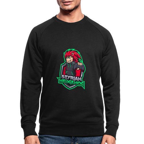 styrian hedgehog Logo - Männer Bio-Sweatshirt