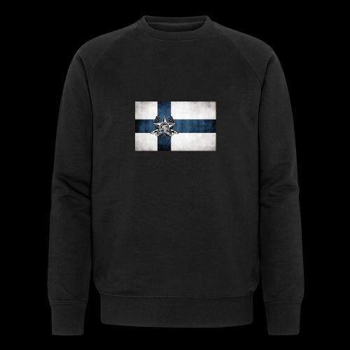 Suomen lippu - Miesten luomucollegepaita