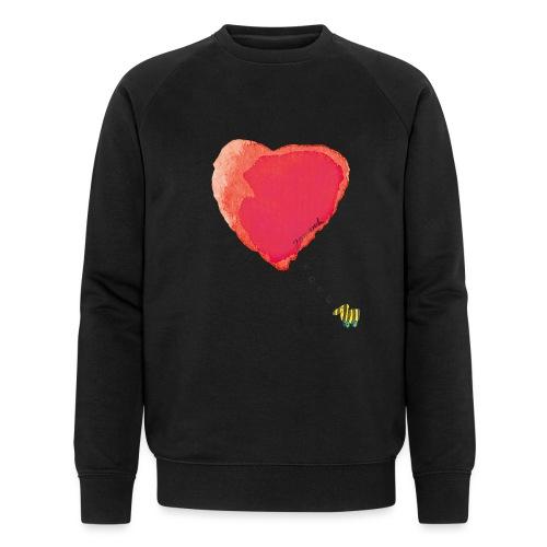 Janoschs Tigerente hat nur Liebe im Sinn MP - Männer Bio-Sweatshirt von Stanley & Stella