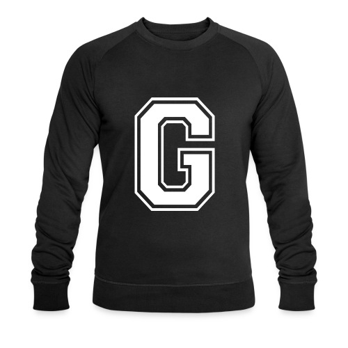 Grime Apparel G Grey Shirt. - Men's Organic Sweatshirt by Stanley & Stella