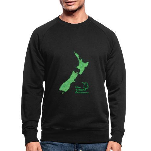 New Zealand's Map - Men's Organic Sweatshirt