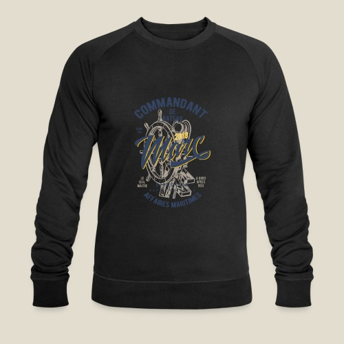 Commandant Marc - Sweat-shirt bio Stanley & Stella Homme