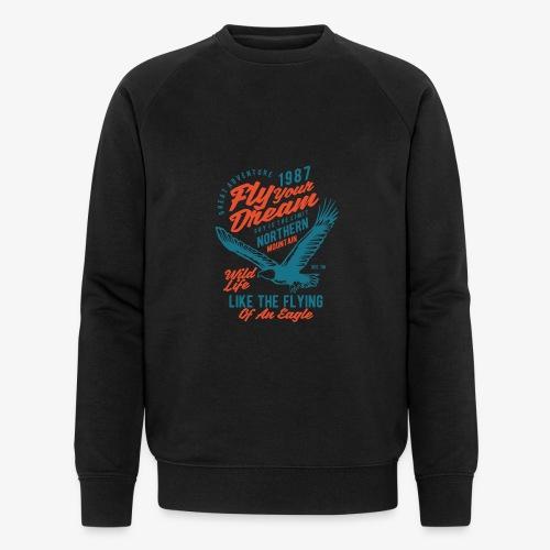 Stehlen Sie Ihren Traum - Männer Bio-Sweatshirt von Stanley & Stella